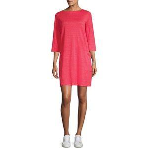 Eileen Fisher 100% organic linen t-shirt dress